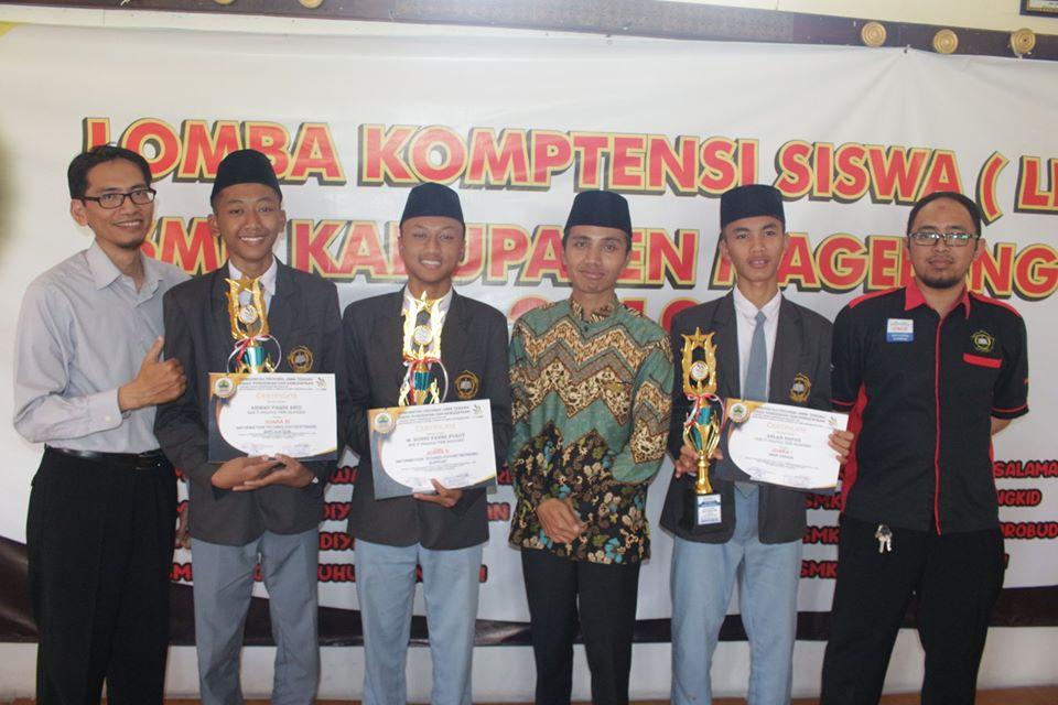 Tim SMK IT IF Meraih penghargaan di ajang LKS Tingkat Kabupaten